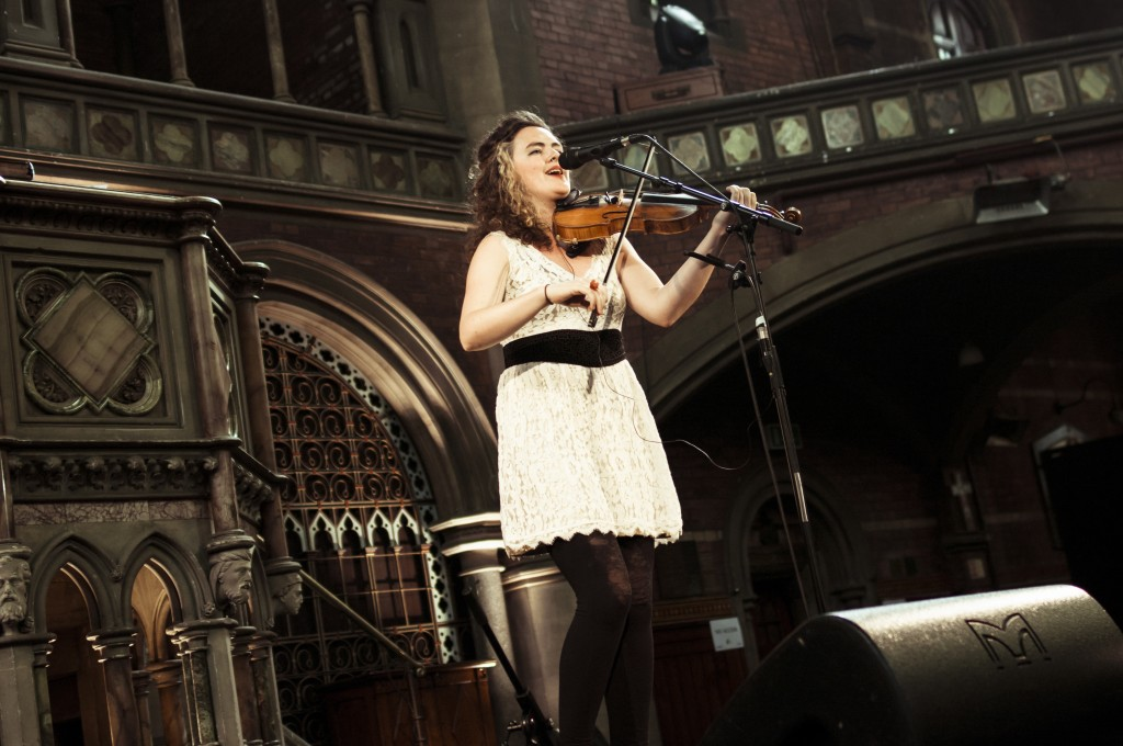 Kate Young launches Swimmings of the Head at the Union Chapel